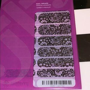 Jamberry wrap- Lace Noir
